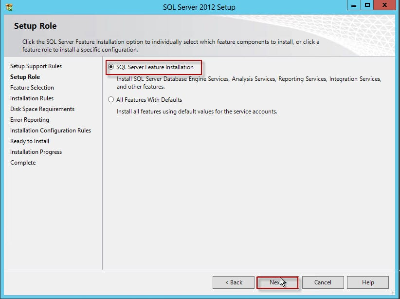29-SQL Server Feature Installation