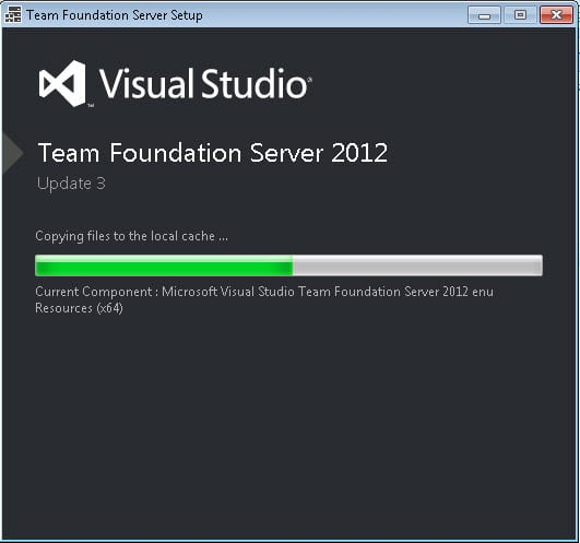 Visual Studio TFS 2012 Update 3 -2