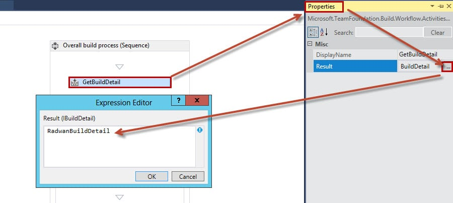 Assign BuildDetail variable