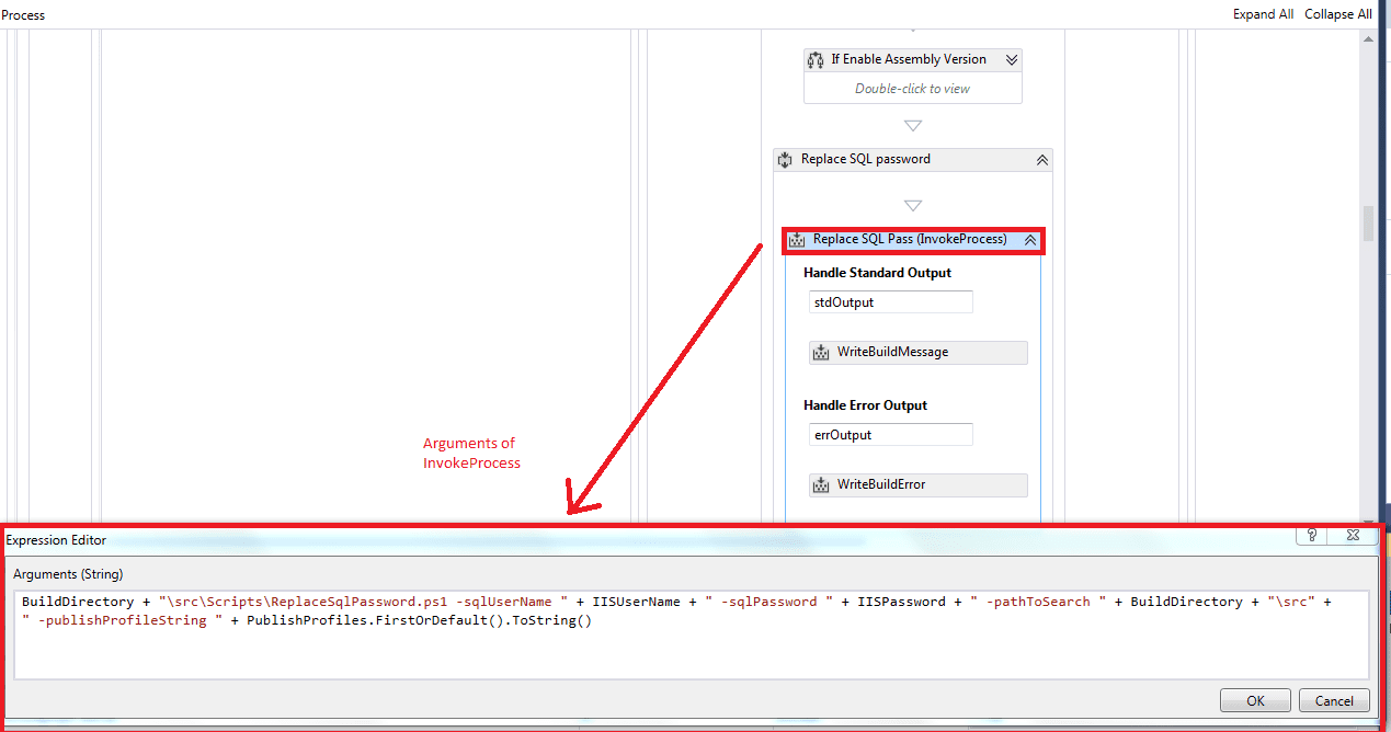 SSDT change connection string