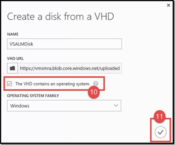 9-Create a disk from vhd from Azure classic portal (3)