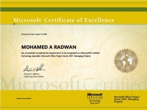 (MCTS)<br> Microsoft Office Project <br>Server, Managing Project  <br>9/16