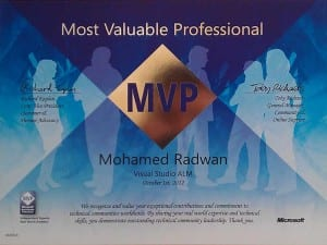 (MVP)<br>Most Valuable Professional <br>1/5