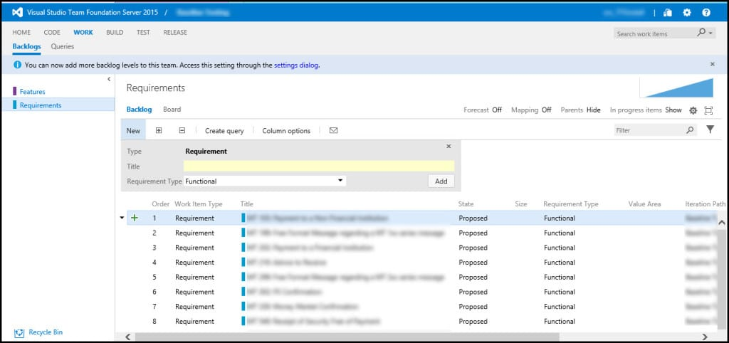 4-2 Configured new features VSTS