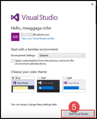 visual-studio-environment