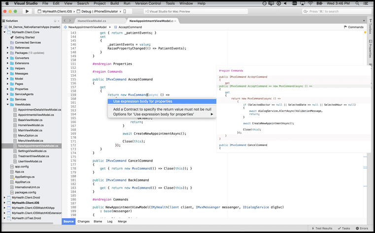 Visual Studio For Mac Running