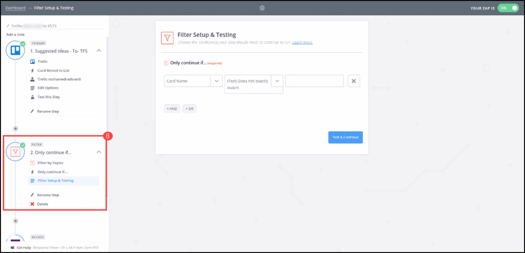 2.8-Creating automation in Zapier
