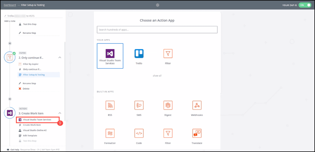 2.9-Creating automation in Zapier