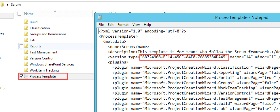 Microsoft Visual Studio Foundation Server 2015 Process