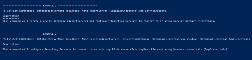 Working with SSRS (SQL Server Reporting Server) PowerShell