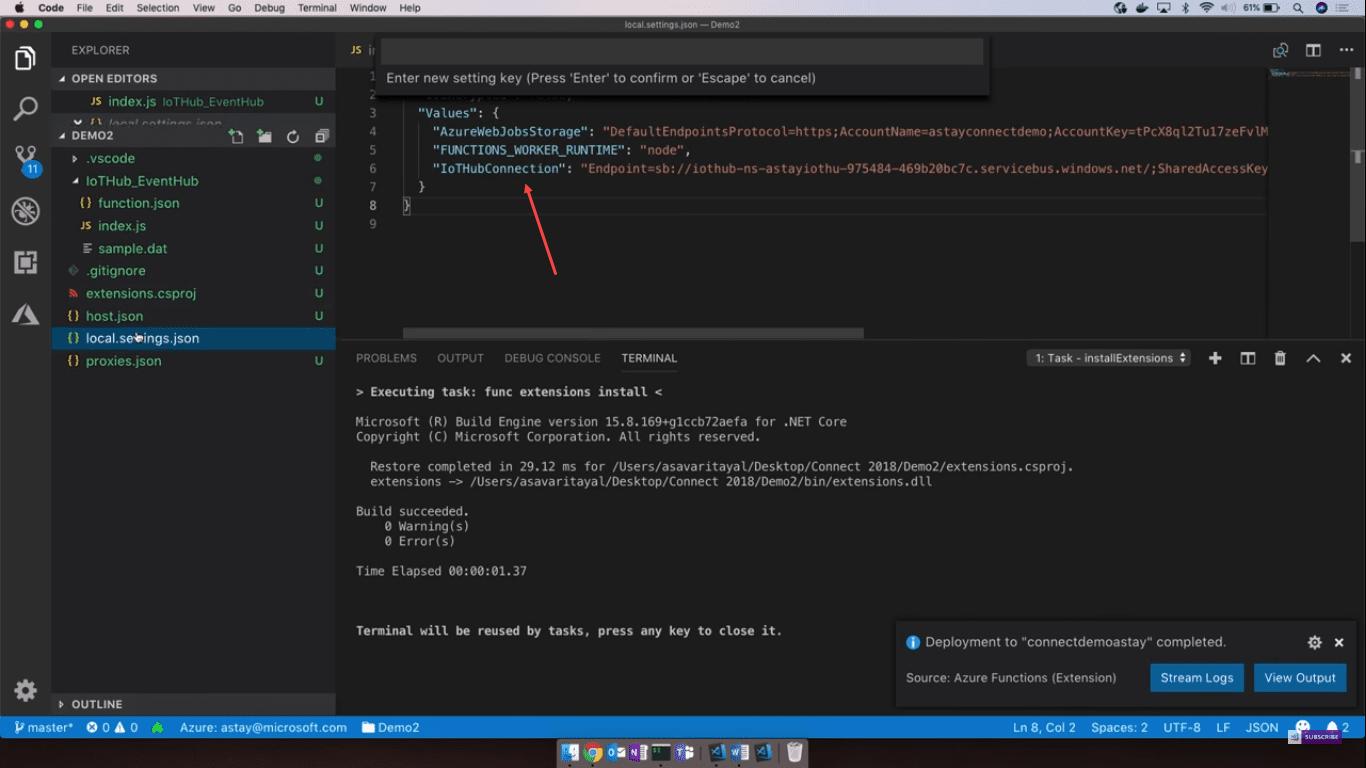 DevOps Automation Azure Functions Building server less apps
